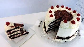 Recette de la Forêt Noire (Black Forest cake) - William's Kitchen