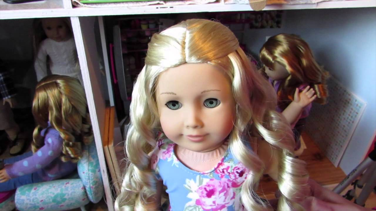 Hairstyles For Your American Girl Doll With Curly Hair