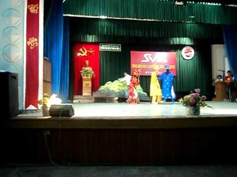 SV2012-Khoa Sinh KTNN-Trường ĐH SP HN2-phần thi chào hỏi