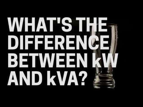 The Difference Between kW And kVA