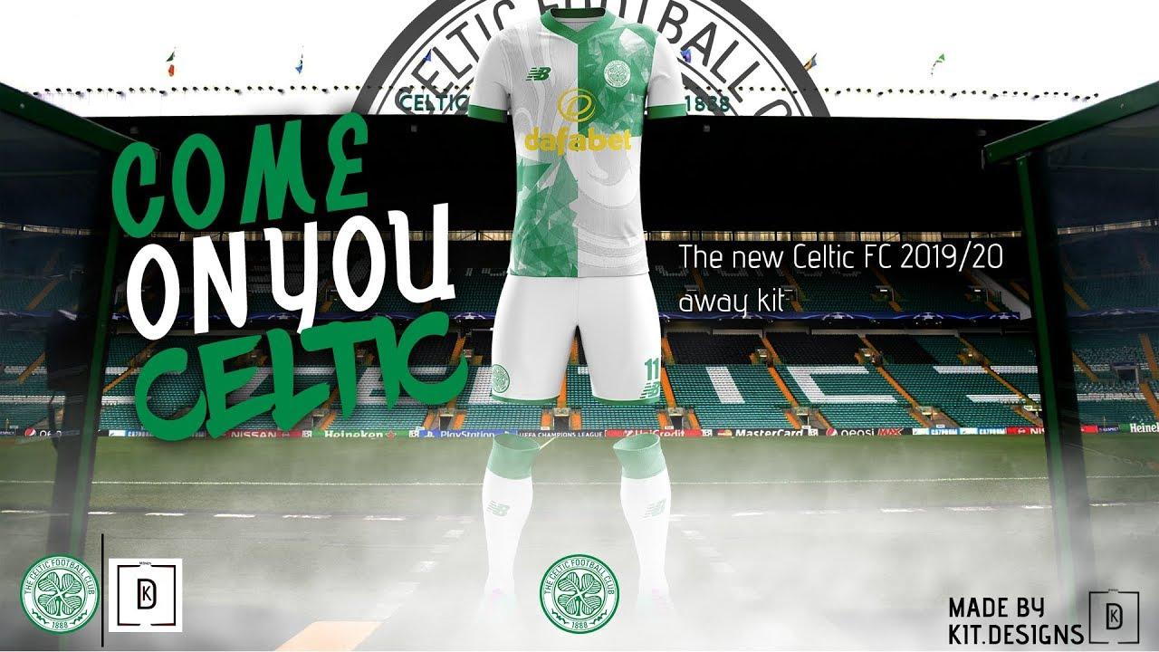 d1dada8a2 Celtic FC Away concept kit    Speed art - YouTube