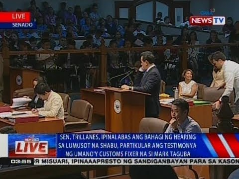 Manifestation ni Trillanes kaugnay ng ethics complaint na is