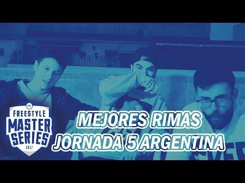 Las MEJORES RIMAS de la QUINTA JORNADA   FMS ARGENTINA 2018   REACCION