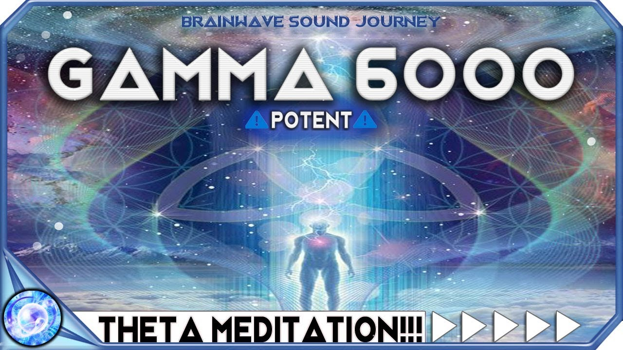 ACTIVATE HIGHER MIND TO 100% POTENTIAL - Hyper Gamma Binaural Beats | Theta  Meditation | MUST TRY!