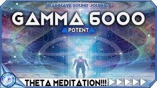 ACTIVATE HIGHER MIND TO 100 POTENTIAL - Hyper Gamma Binaural Beats  Theta Meditation  MUST TRY