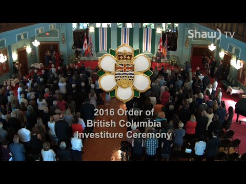 The Order of BC 2016
