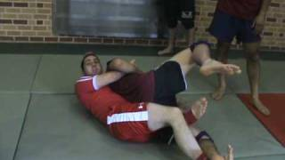 Calf Crush From the Back – Reilly Bodycomb: Sambo Camp Brussels, Belgium 2010