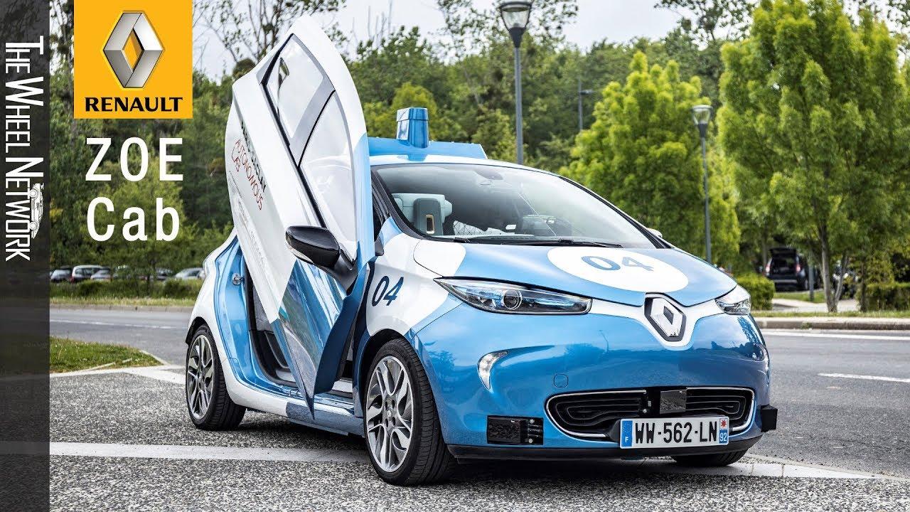 Renault Zoe at the Paris-Saclay Autonomous Lab: Autonomous, Electric and  Shared Mobility Services