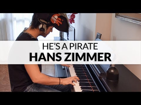 Pirates of the Caribbean: The Curse of the Black Pearl - He's a Pirate (Hans Zimmer) | Piano Cover