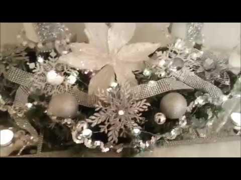 Christmas Glam Home Decor tour