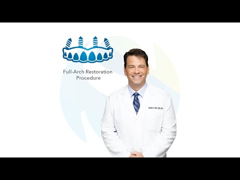 Full-Arch Restoration Procedure in Tyler, Texas: Dr. Brian Stone | Southern Surgical Arts