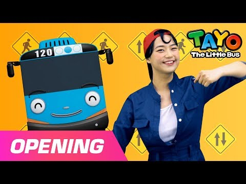Tayo Opening Theme Song L Dance Version L Tayo The Little Bus