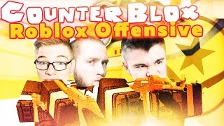 BETTER THAN CS: GO! | Counter-Blox: Roblox Offensive-DIABEUU'A FAVORITE MODE! (With: Ekipa)