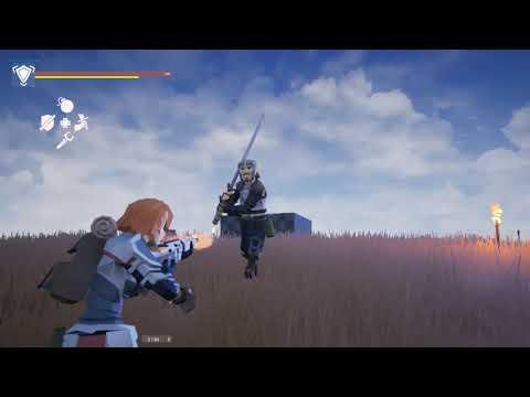 UE4 - Action RPG Longsword AI Combat & Magic Test | Low Poly Dark Souls | BOTW