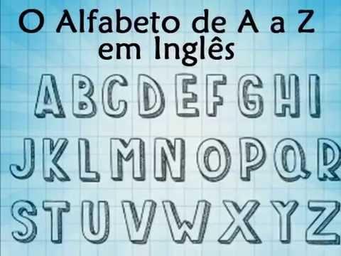 Música do Alfabeto Inglês - Pronúncia Português