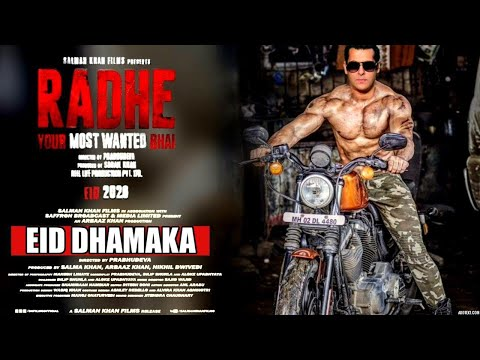 """Radhe Trailer"" Official| EID DHAMAKA |Salman Khan |Disha Patani |Prabhudeva |Randeep Hooda|2020"