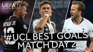 #UCL BEST GOALS: Match Day 2