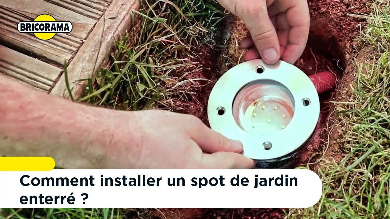 Tuto Installer Un Spot De Jardin Enterré Bricorama