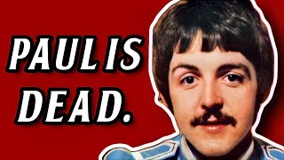 Paul is Dead | A Beatle Conspiracy