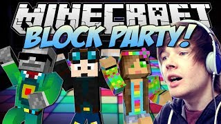 ULTIMATE RAGE PARTY! | Minecraft: Block Party Minigame!