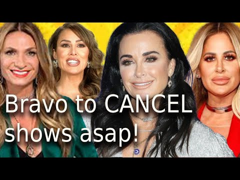 Breaking news Bravo in crisis to cancelled Tardy For The Party & RHOC asap! Kyle RHOBH new facelift!