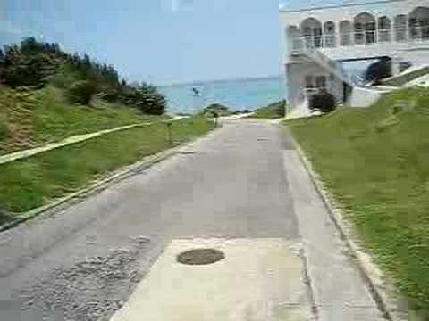 小浜島ビーチリゾート先のビーチへ