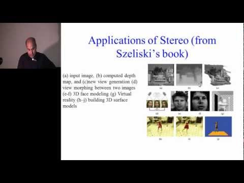 Lecture 16: Stereo