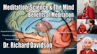 meditation science the mind pt 1 dr richard davidson benefits of meditation on the brain