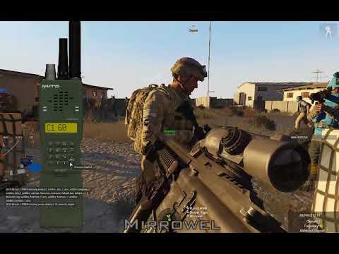 [ENG]Arma 3. UN convoy on Lithium