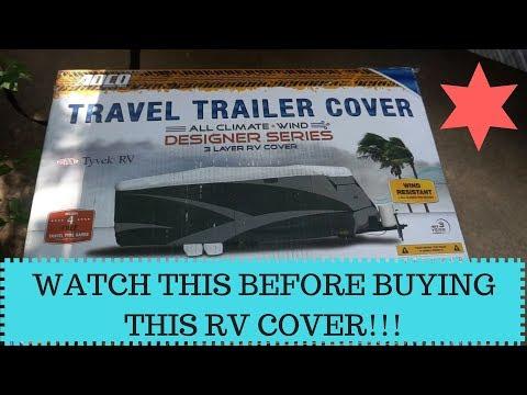 ADCO Travel Trailer/RV Cover Review