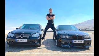 უხეში ტესტ დრაივი - BMW M3 vs C32 AMG Drag Race!!!