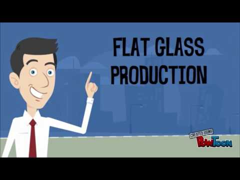 Flat glass production