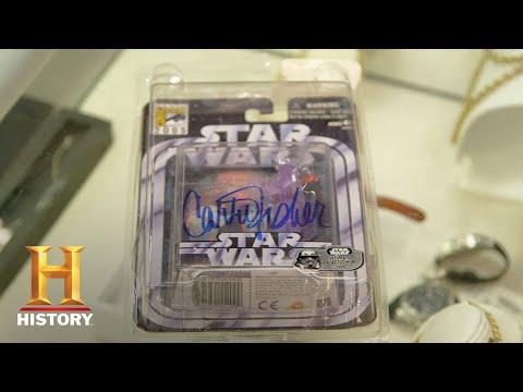 Pawn Stars: Signed Princess Leia Action Figure (Season 15)   History