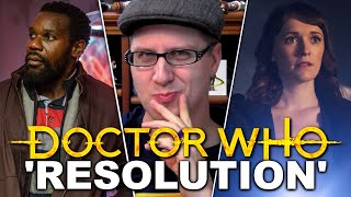 Doctor Who Review - Resolution