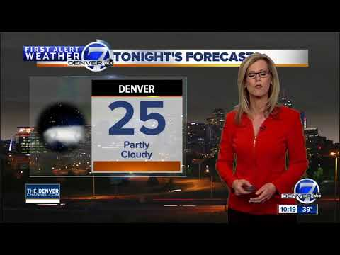 50s in Denver tomorrow, but closer to 70 degrees by Wednesday