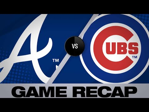 Braves hang on for 5-3 win over Cubs | Braves-Cubs Game Highlights 6/26/19