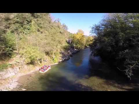 Rafting aguaraja bagni di lucca by drone youtube - Rafting bagni di lucca ...