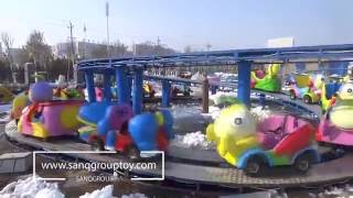 SANQGROUP FACTORY 20 Seats Kiddie Mini Shuttle rides / Mini Roller Coaster