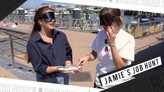 Jamie's Job Hunt (afl 4): Vis kuisen met Caroline Van Cauter