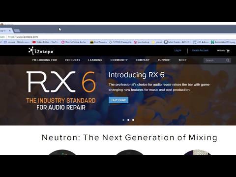 Izotope's RX6 vs RX5 de-noiser