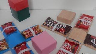 Caixa explosiva de chocolate – Passo a passo Alinne Marques