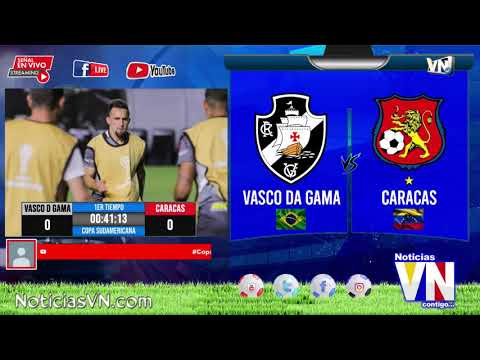 Caracas vs Vasco da Gama, Copa Sudamericana 2020 / Deportes VN