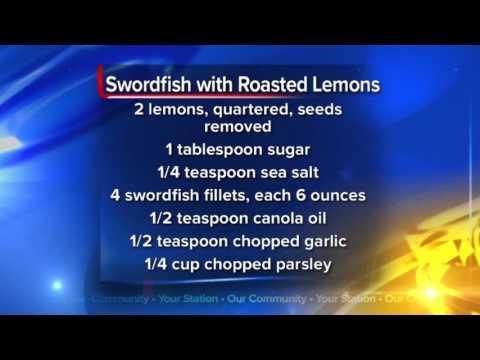 What's For Dinner: Swordfish with Roasted Lemons