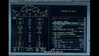 Airbus A350 SIMULATOR - Dual Engine Failure at Cruise Level (ENG sub)