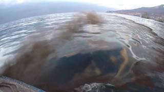 Обработка загрязненной водной поверхности сорбентом(, 2016-12-08T13:23:39.000Z)