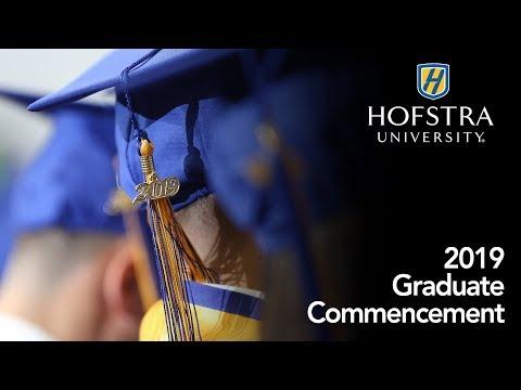 2019 Graduate Commencement - Hofstra University