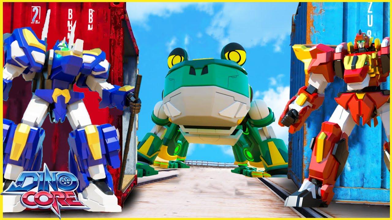 Robot biến hình   Dinocore Siêu Nhân Tập 8 Phần 5   Phim Thiếu Nhi Hay Lồng Tiếng Việt