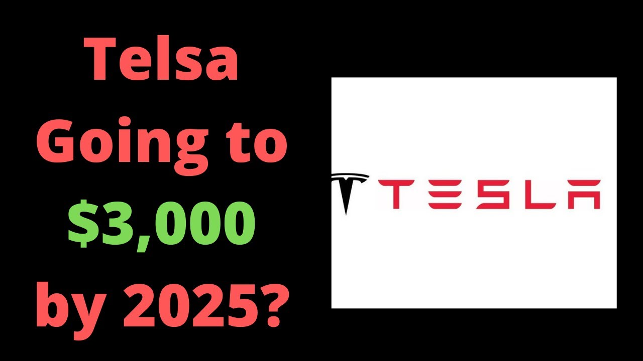 Why Tesla Stock Will Hit $3,000 by 2025! (TSLA Stock ...