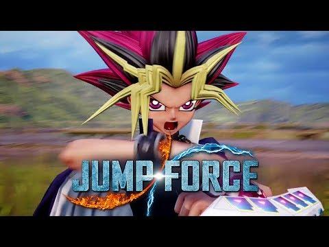 JUMP FORCE - Yu-Gi-Oh! e o PODER do coração das cartas