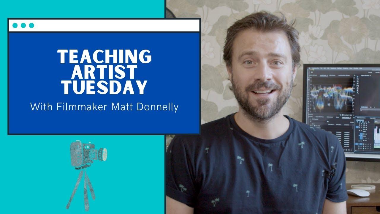 ABTKids Daily | Teaching Artist Tuesday with Filmmaker Matt Donnelly
